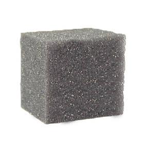 Губка для фільтра квадратна середньозерниста 10х10х10 см