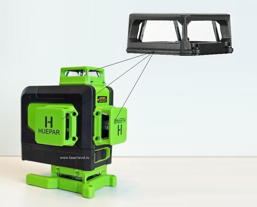 💥 Cтеклянное окно/башня и защитная крышка для лазерного уровня Huepar 904CG 16 линий