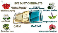 Парфюмерная вода Avon Eve Duet Contrasts, 2 x 25 мл