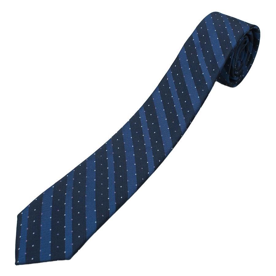 Мужской комбинированный галстук в синем цвете Pierre Cavelli SCompo-d.Blue3