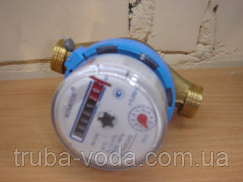 """Счётчик  для холодной воды 1/2"""" ЛК-15Х, Украина (Новатор)"""