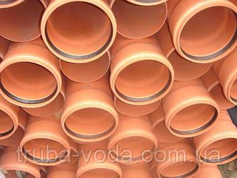 Труба пвх наружной канализации Ф110Х2000 3,2