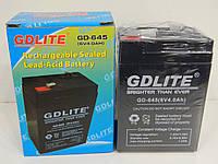 Аккумуляторная батарея GDLite GD-645, аккумулятор, GDLite GD-645