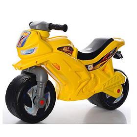 Детский беговел Орион 501 лимонный