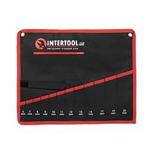 Чохол для гайкових ключів 12 кишень INTERTOOL BX-9012