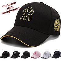 Чоловіча фірмова молодіжна модна стильна спортивна кепка бейсболка блайзер New York Yankees NY (5), фото 1
