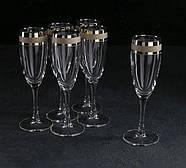 """Набір келихів для шампанського """"Ампір"""" 170 мл, 6шт., фото 2"""