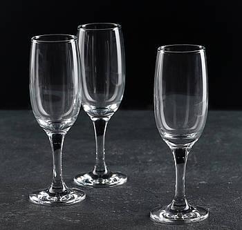 """Набор бокалов для шампанского 190 мл """"Bistro"""" Pasabache 6 шт."""