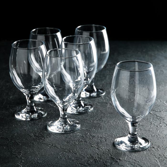 """Набір бокалів для води 400 мл """"Bistro 44417"""" 6 шт."""
