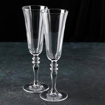 """Набор фужеров для шампанского 190 мл """"Винтаж"""", 2 шт."""
