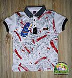 Стильная футболка с воротником для мальчика, фото 4