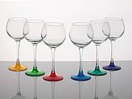 """Набір келихів 210 мл для вина """"Едем"""" 14с1776 Лак Мікс 6 шт., фото 2"""