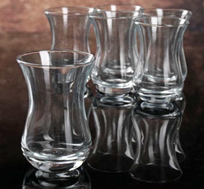 """Набір стаканів чаю 160 мл """"Valse 62511"""" 6 шт Pasabahce."""