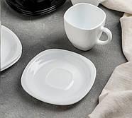 Сервиз чайный Carine-(B & W) 12 предметный: 6 чашек 220 мл, 6 блюдец 13,4 см, Luminarc., фото 4
