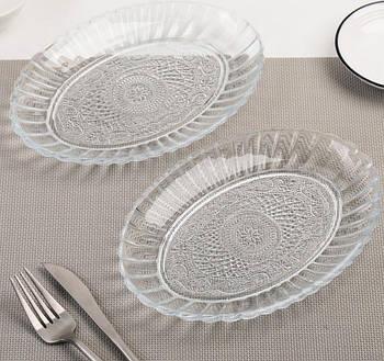 """Набор овальных тарелок """"Konya"""" 260х185мм 2 шт."""