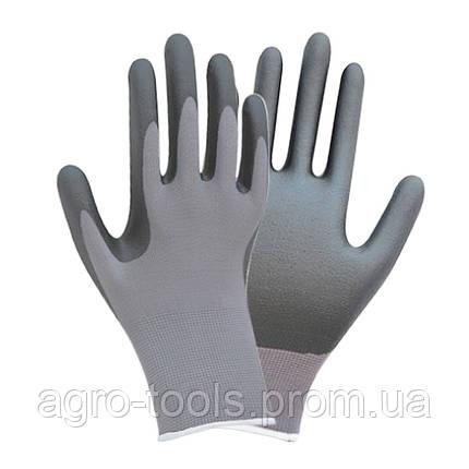 Перчатки трикотажные с частичным нитриловым покрытием р10 (серые манжет) SIGMA (9443521), фото 2