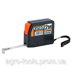 Рулетка с автостопом 2м×13мм GRAD (3816025)