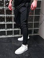 Спортивные штаны мужские с лампасами серые трикотажные Мужские штаны с полосками Акция 1+1=2!!