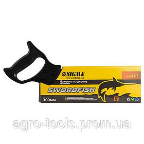 Ножовка по дереву пасовочная 300мм SWORDFISH SIGMA (4401411), фото 2