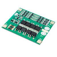 BMS контроллер 3S 25А плата заряда защиты 3x Li-ion 18650 с балансиром, 103005