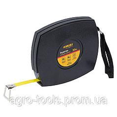 Рулетка стальная лента 30м×10мм (черная) SIGMA (3816301)