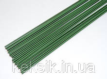 Проволока зеленая № 18 40см 10 шт