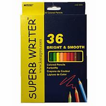Олівці кольорові MARCO 36 кольорів №4100-36 superb writer