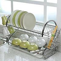 Стойка сушка для хранения посуды kitchen storage rack