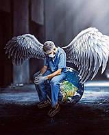 Картина по номерам рисование Чарівний діамант Защитники мира РКДИ-0310 40х50см набор для росписи, краски,
