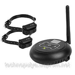 Беспроводной электронный забор для собак Wireless Dog Fence WDF-558 2 ошейника (100136)