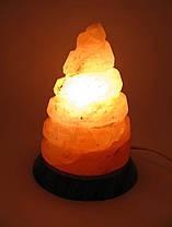 """Соляная лампа """"Спираль"""" (SL-29) (17,5х14х14 см) (8 шт ящ.) (Гималайская соль)"""