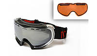 Маска-очки фирмы New Balance Mont Blank Silver (со сменными линзами ).