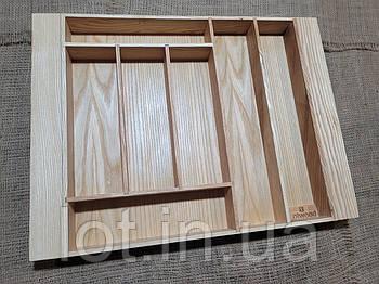 Лоток для столовых приборов L442-535.400 ясень
