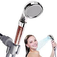 Лейка для душа с минерально-турмалиновым фильтром однорежимная Shower Heath
