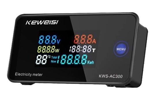 Цифровой Вольтметр Амперметр KWS-AC300