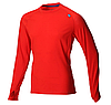 AT/C Merino LS M Red/Blue мужской теплый лонгслив для бега