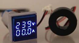 Цифровой Вольтметр Амперметр AC 60-500В 0-100A