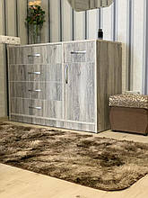 Ковер Травка меховой искусственный  100* 200 см Коричневый