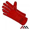 Перчатки сварщика REFLEX-RED (кожанные, черный, 35см)