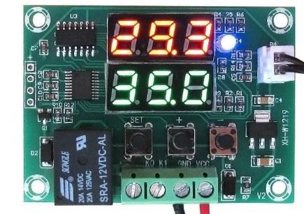 Реле температури, терморегулятор W1219