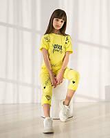 Модний літній костюм для дівчинки (146-164р)
