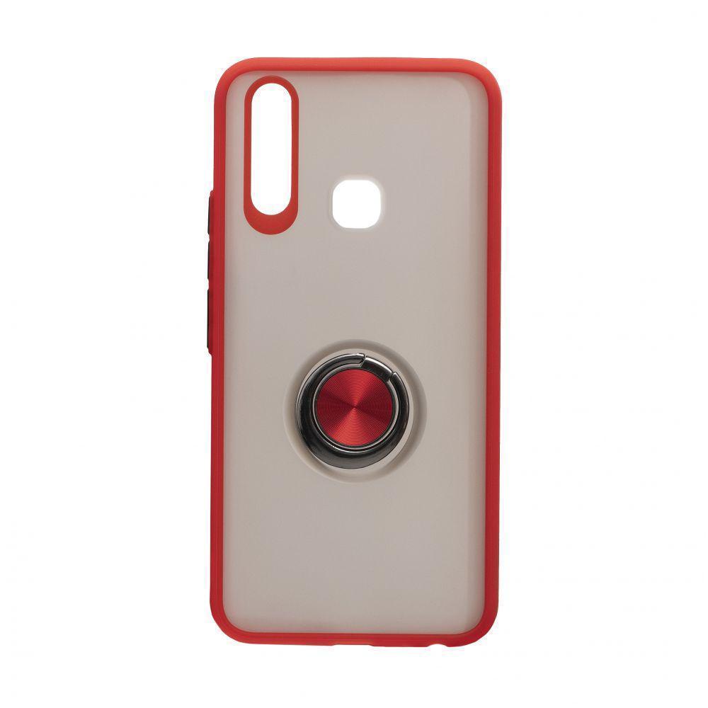 Чехол Totu с магнитным кольцом для Vivo Y15 Красный