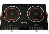 Інфрачервона плита Rainberg RB-816 (дві конфорки по 2500 Вт), фото 5