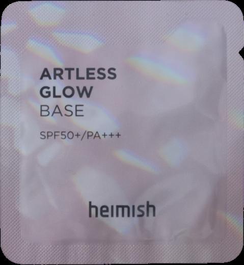 База під макіяж з мерехтливим фінішем Heimish Artless Glow Base SPF50+ / PA+++ 1.5 мл SAMPLE