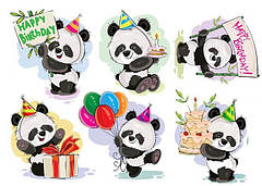 "Вафельна картинка  ""Панда"""
