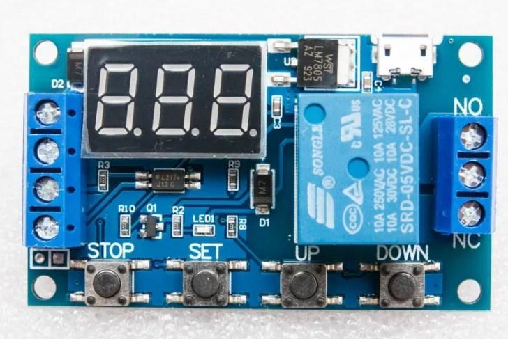 Реле Часу Затримки, Циклічний Таймер JZ-801