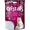 Наповнювач сілікагелевий Cristals Fresh Крісталс Фреш для котів з лавандою 9 л