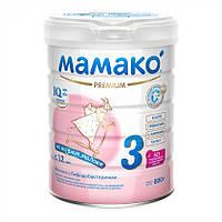 Молочна суміш на козячому молоці Мамако 3 Premium 12+ міс, 800 г