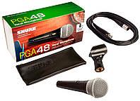 Shure PGA48XLR микрофон динамический, кардиоидный