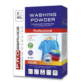 PRO Порошок пральний безфосфатний автомат Color  (гірська свіжість), 400 г (20 шт/ящ) (25481600)